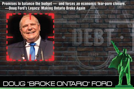 Doug Ford - Make Ontario Broke Again