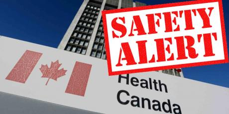 Health Canada Safety Alert